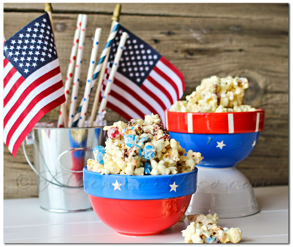 White Chocolate M&M Popcorn - Kleinworth & Co.