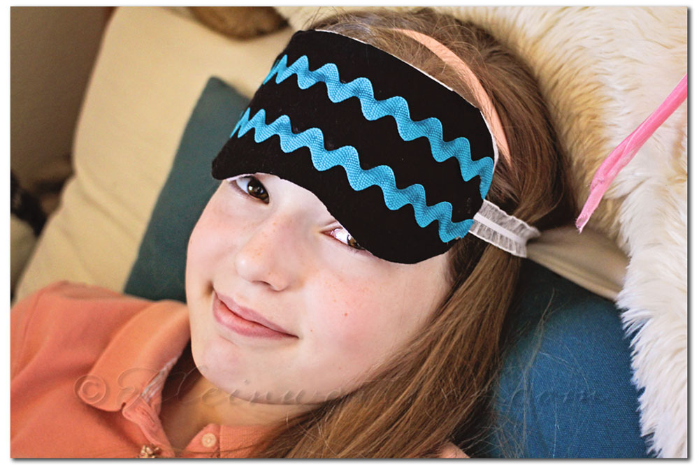 No Sew Sleep Mask