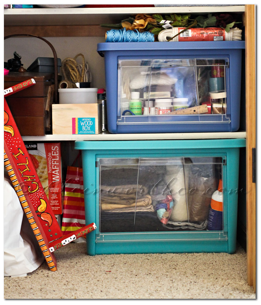 Getting Organized with Rubbermaid All Access Organizers