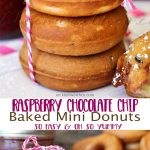 Raspberry-Chocolate-Chip-Mini-Donuts