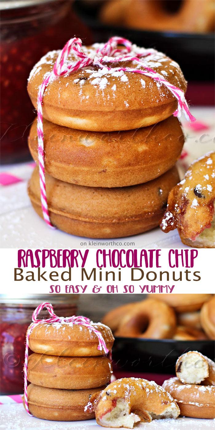 Raspberry-Chocolate-Chip-Mini-Donuts