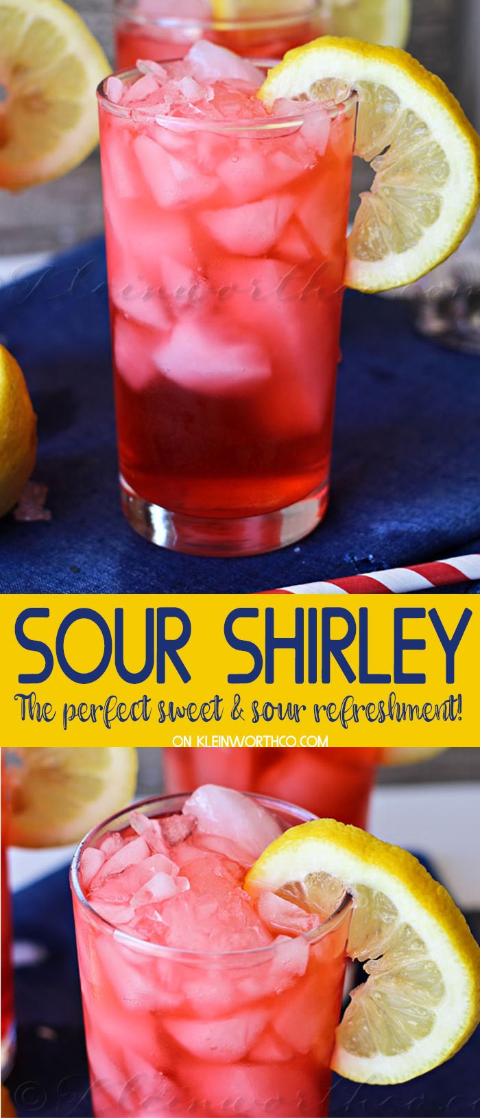 Sour Shirley Summer Drink Recipe