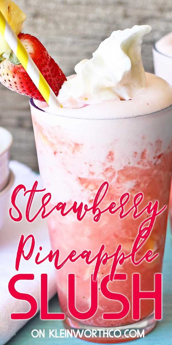 Strawberry Pineapple Slush