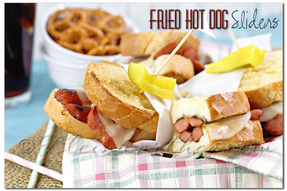 Fried Hot Dog Sliders