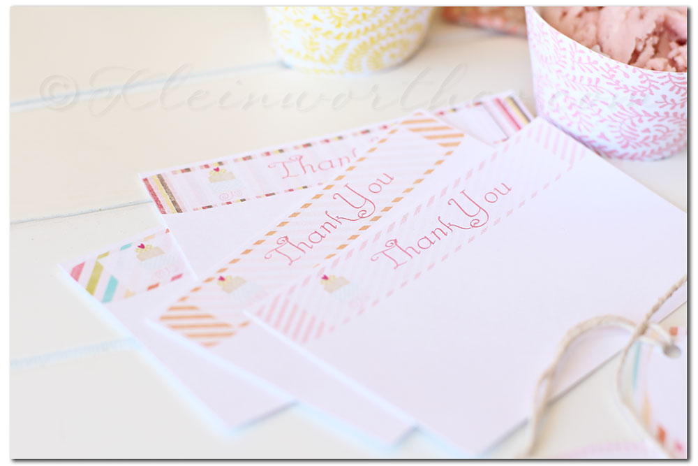 Sorbet Party Printables