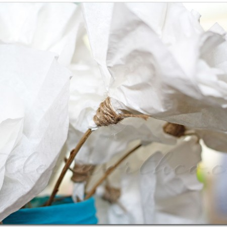 Simple Coffee Filter Flowers