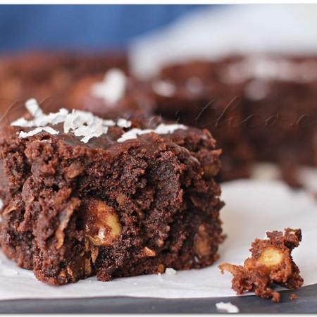 Game Day Crock Pot Brownies