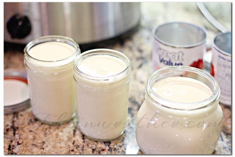 Crock Pot Dulce de Leche caramel recipe