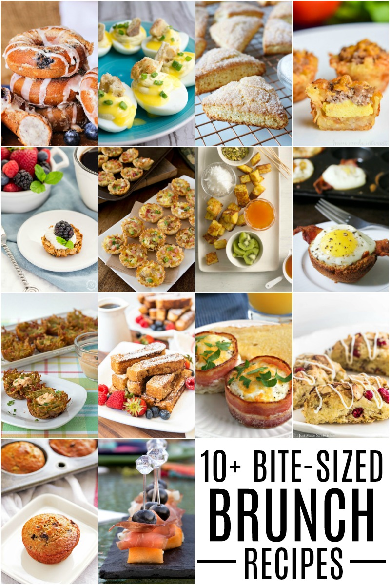 Bite Sized Brunch Recipes