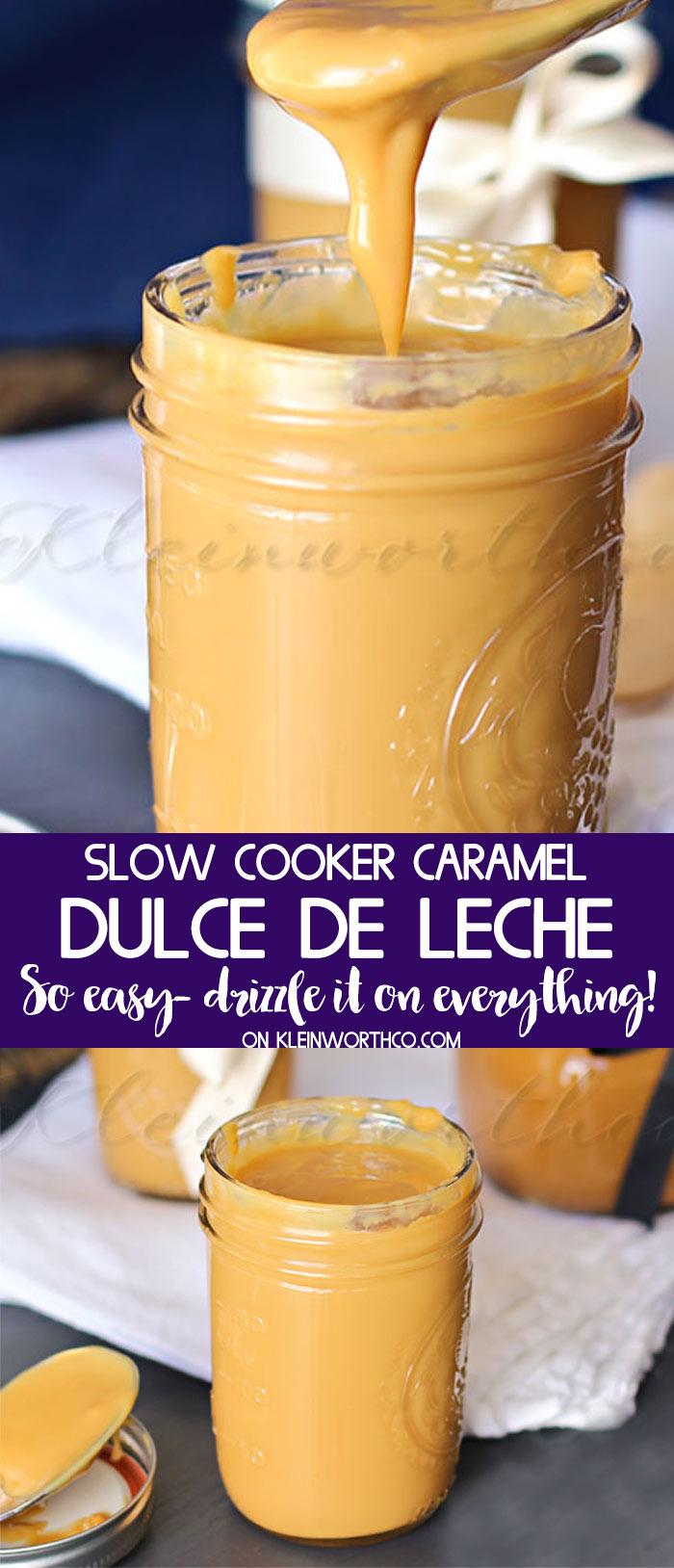 Crock Pot Slow Cooker Dulce de Leche