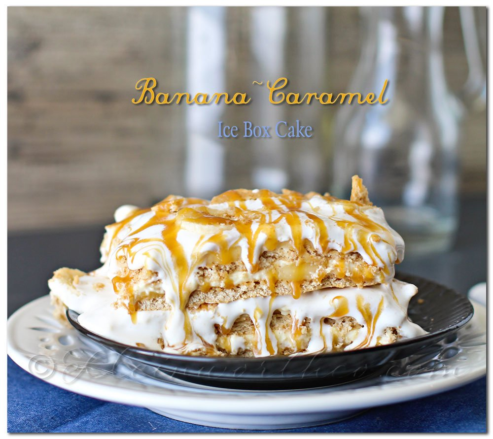 Caramel Ice Box Cake
