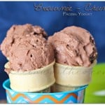 Brownie Chunk Frozen Yogurt