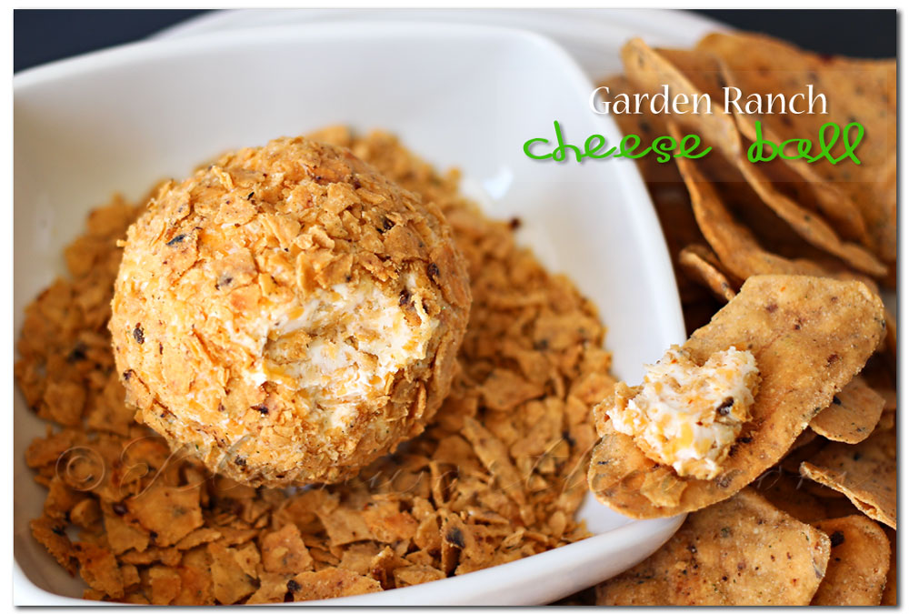 Garden Ranch Cheese Ball