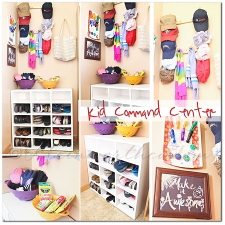 Kid Command Center #BacktoSchoolWeek