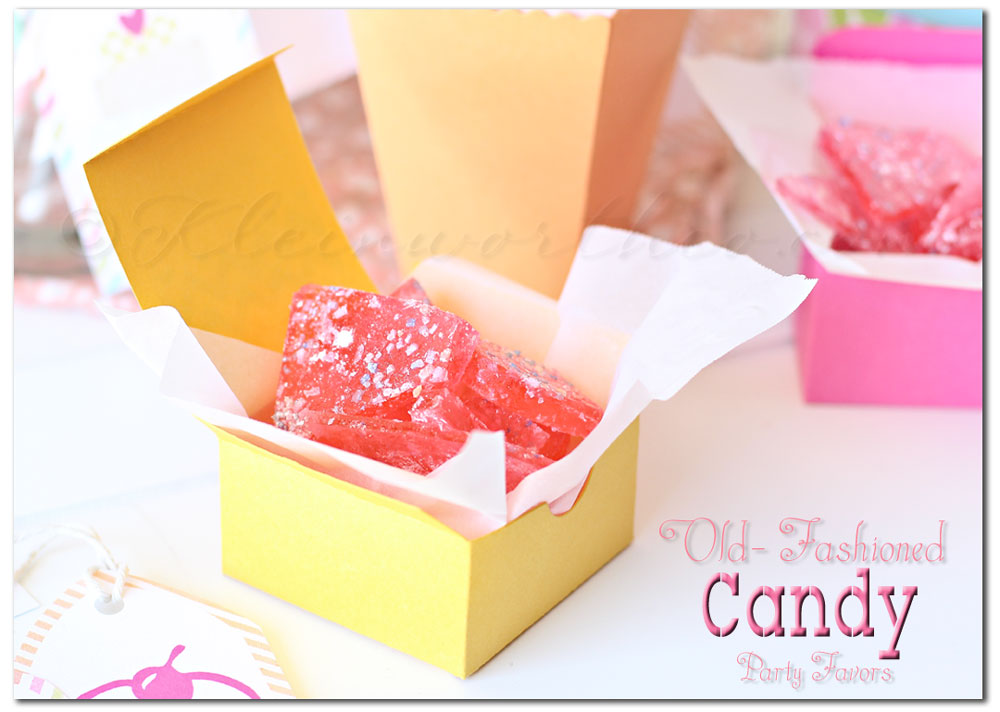 Easy Candy Recipe, old fashioned candy recipe, party favors