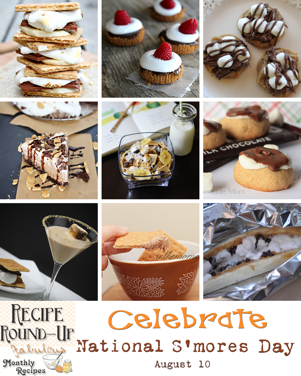 national s'mores day, Frozen Mocha S'Mores Overload