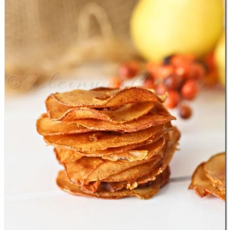 Cinnamon Pear Chips
