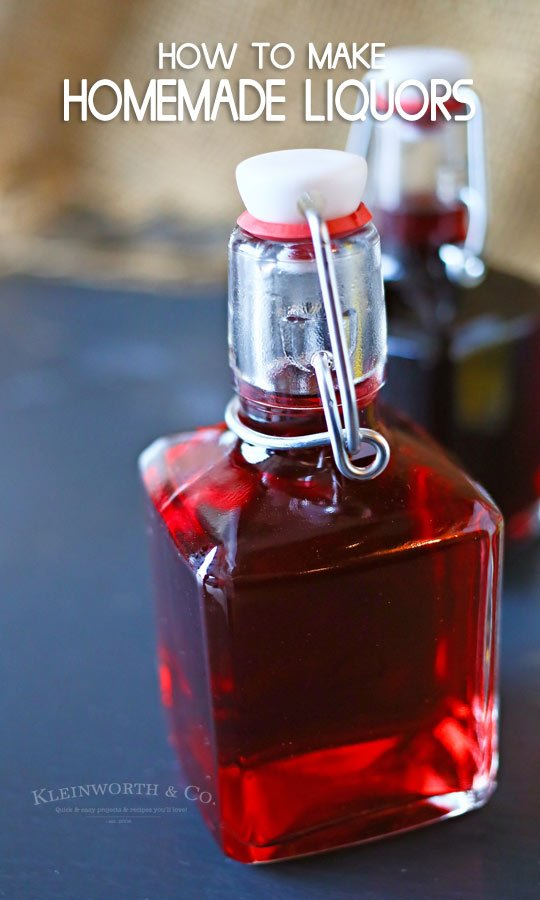 How to Make Homemade Liquors raspberry brandy