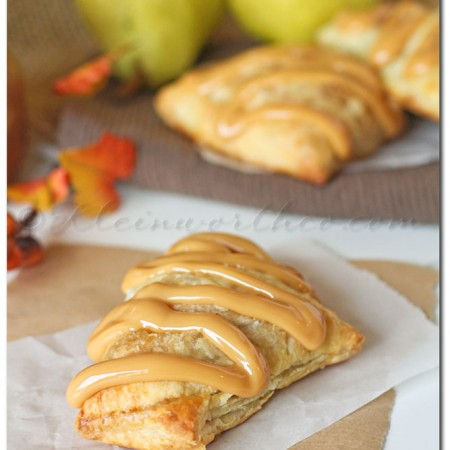 Caramel Pear Turnovers