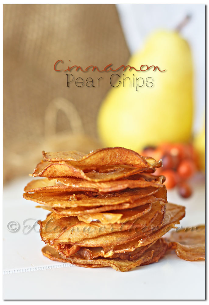Cinnamon Pear Chips
