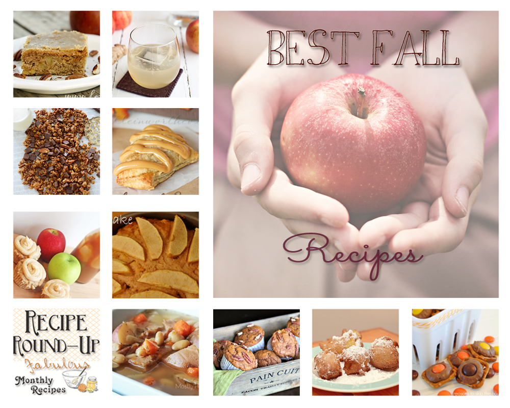 September Recipe Round-Up, Best Fall Recipes