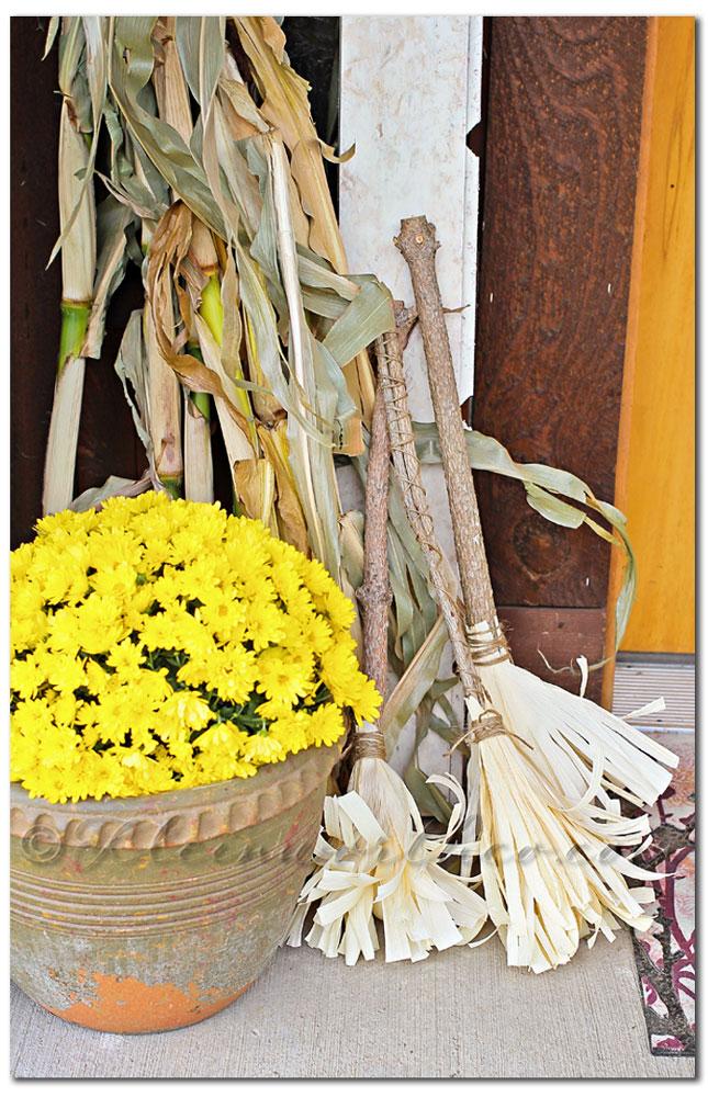 Corn Husk Brooms