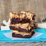 Pumpkin Spice Rocky Road Brownies