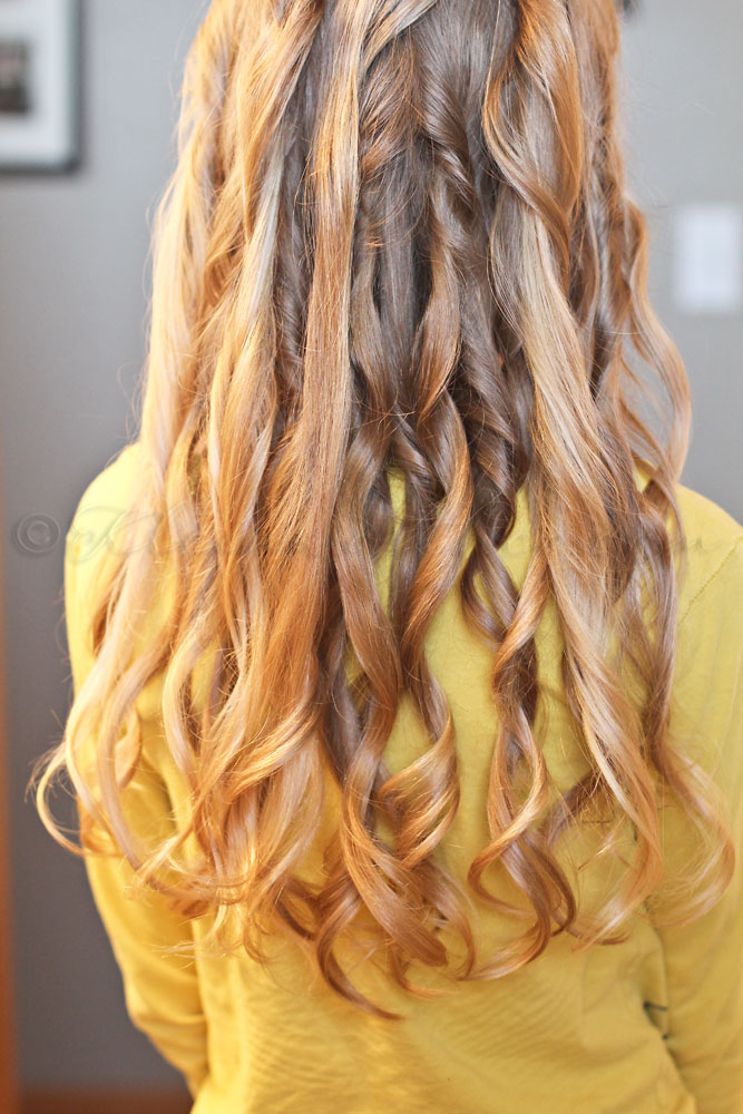 Easy Messy Beach Waves for Tweens, #shop, #ConairCurl, #cbias
