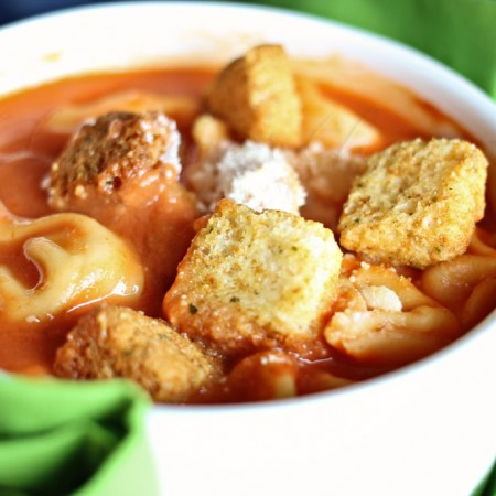 Creamy Tomato Tortellini Soup ~ with WonderBag