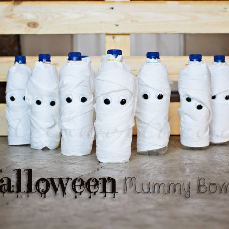 Halloween Mummy Bowling ~ Project 52 week 43