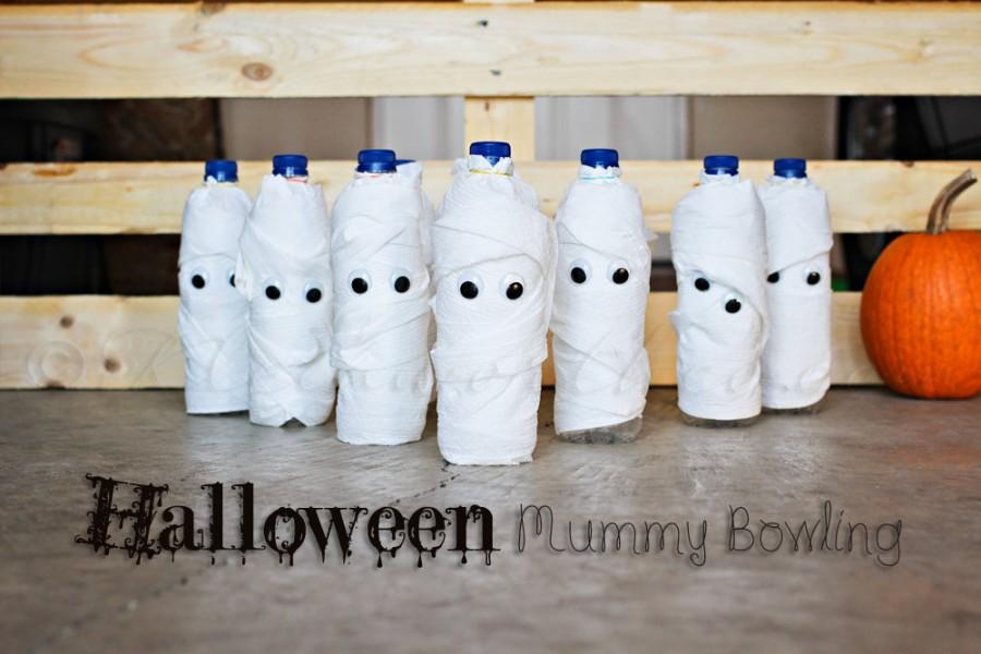 Halloween Mummy Bowling