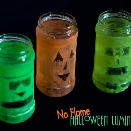 No Flame Halloween Luminaries