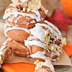 Pumpkin Butter Donuts