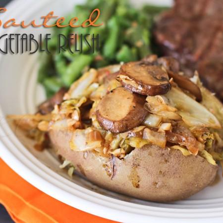 Sauteed Vegetable Relish