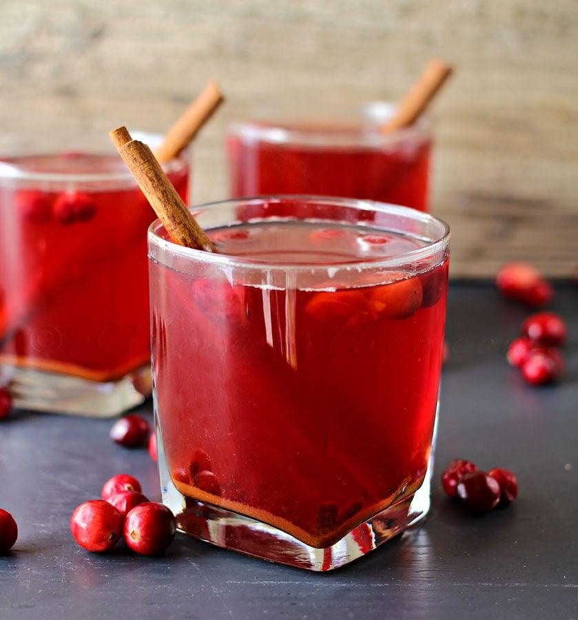 Crock Pot Cranberry Cider by Kleinworth & Co.