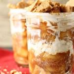 Ice Box Apple Pie Jars