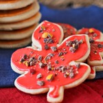 Fall Sugar Cookies, soft sugar cookies, sugar cookie recipe