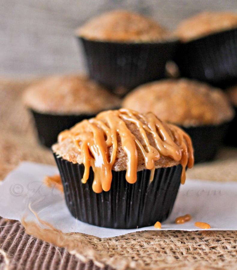 Dulce de Leche Pumpkin Muffins
