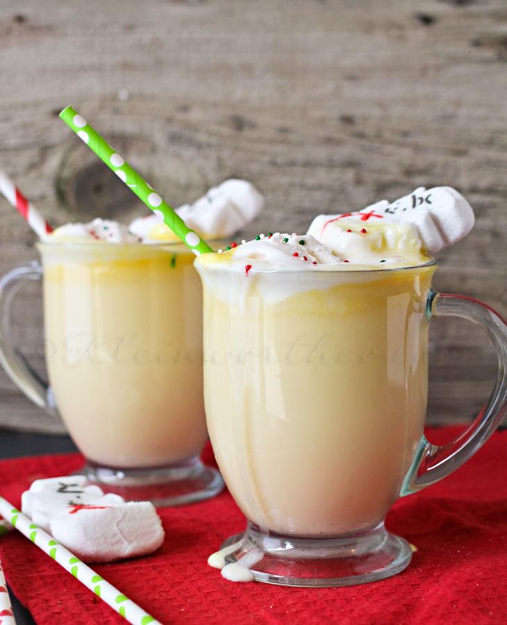 Eggnog Hot Chocolate