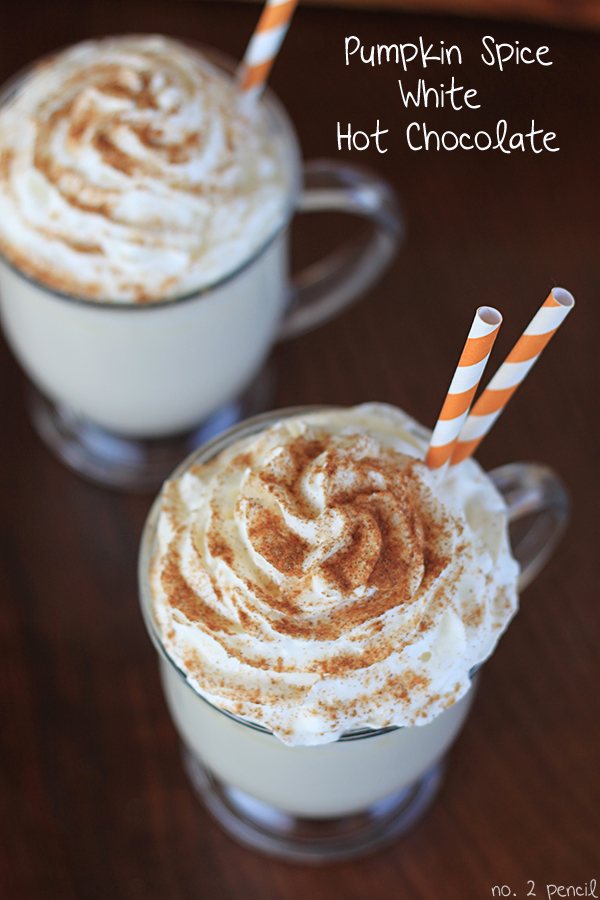 Pumpkin-Spice-White-Hot-Chocolate, 10 Best Holiday Drink Recipes