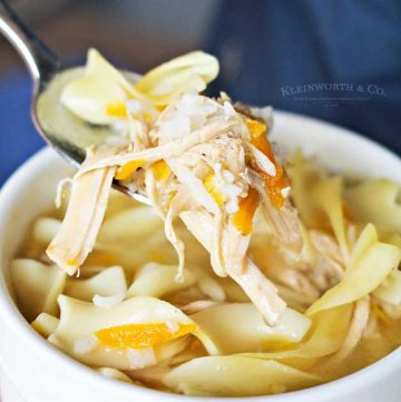 Crock Pot Turkey Rice Soup for thanksgiving leftovers