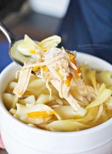 Crock Pot Turkey Rice Soup for thanksgiving leftovers