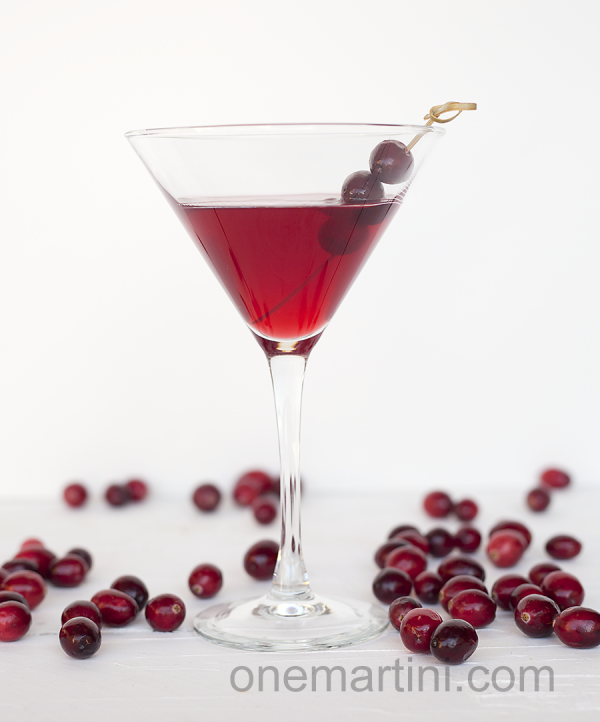 cranberry-gin-martini, 10 Best Holiday Drink Recipes