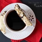 Dark Chocolate Almond Biscotti