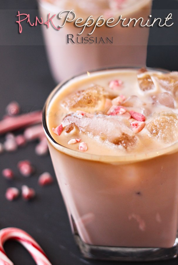 Pink Peppermint Russian, 10 Best Holiday Drink Recipes