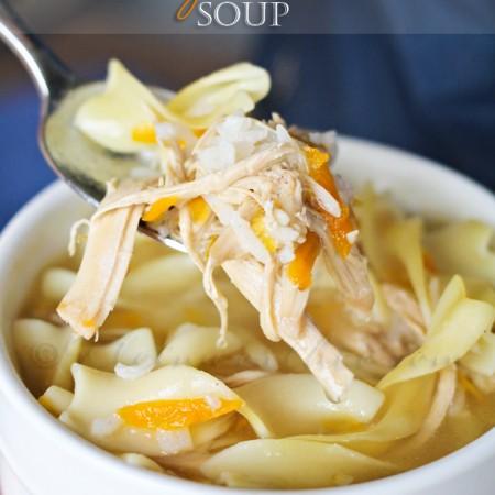 Crock Pot Turkey Rice Soup