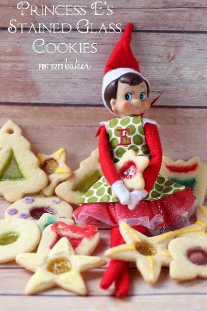 15 Holiday Cookie Recipes, Create Link Inspire Features at Kleinworth & Co., PRINCESS EStain glass Cookies (62)