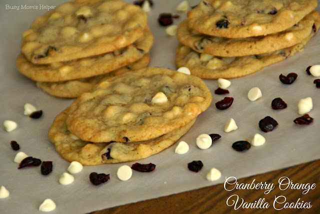 Cranberry Orange Vanilla Cookies, 15 Holiday Cookie Recipes, Create Link Inspire Features at Kleinworth & Co.