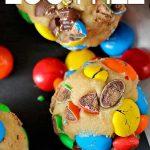 Egg free - cookie dough bites