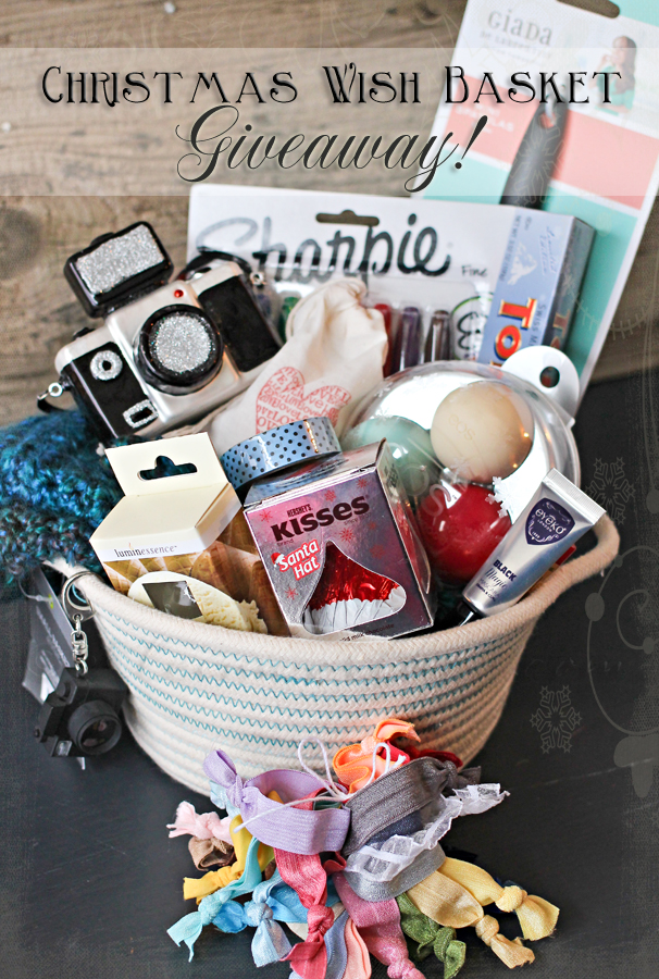 Christmas Wish Basket Giveaway